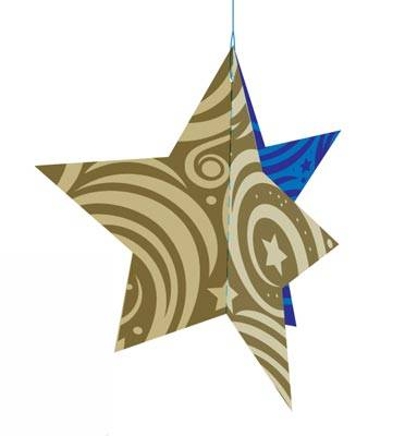 3 Sided Star Ornament