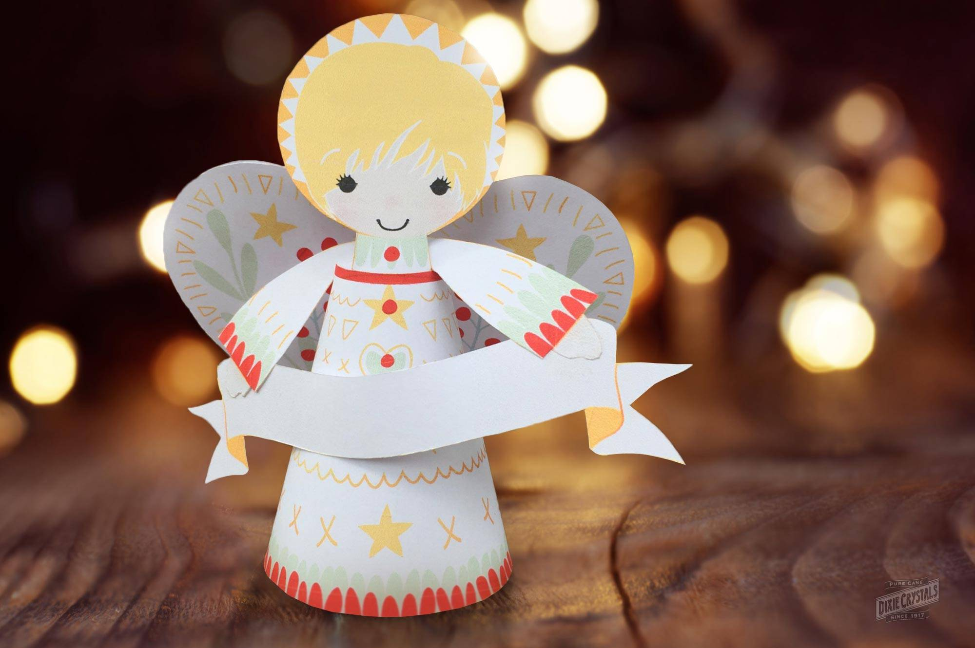 Paper Christmas Angel