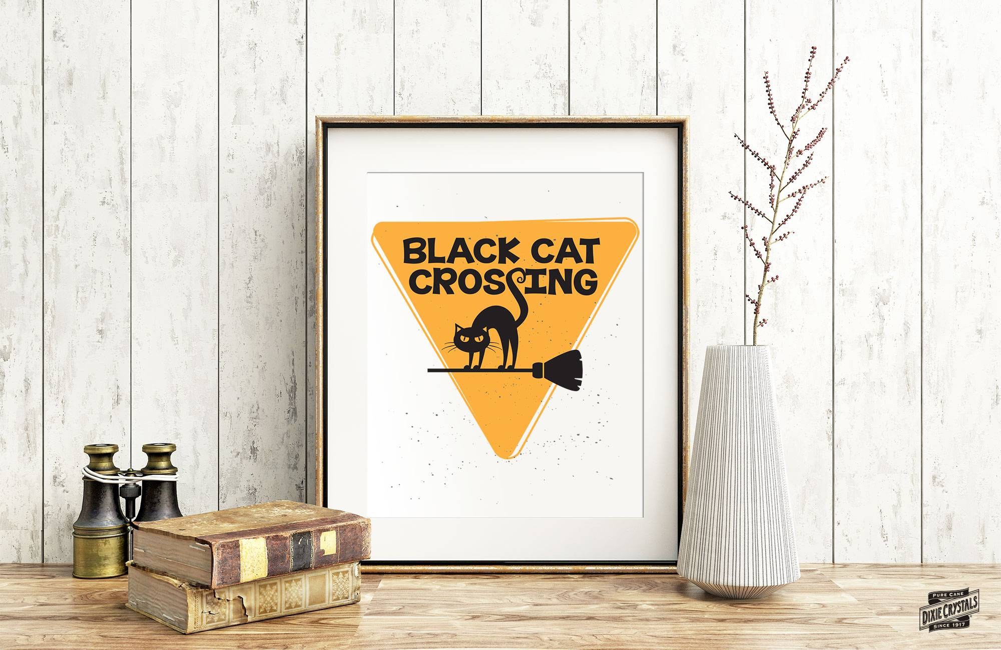 Black Cat Crossing