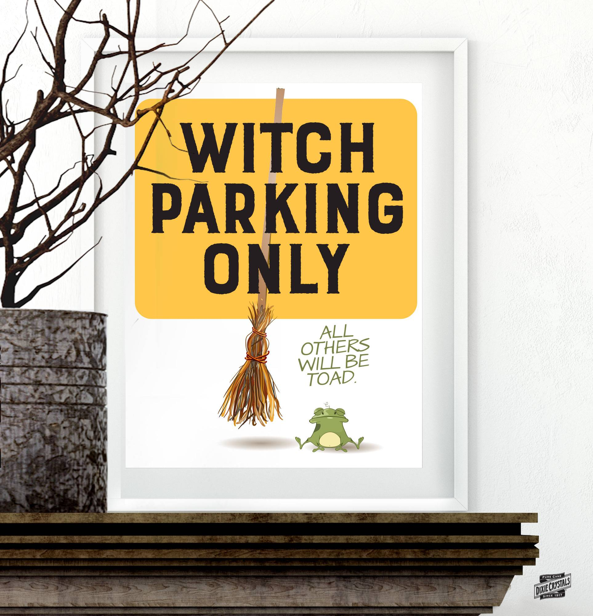 Subway Art - Witch Parking Only