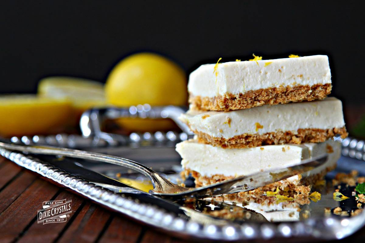 Lemon Icebox Bars