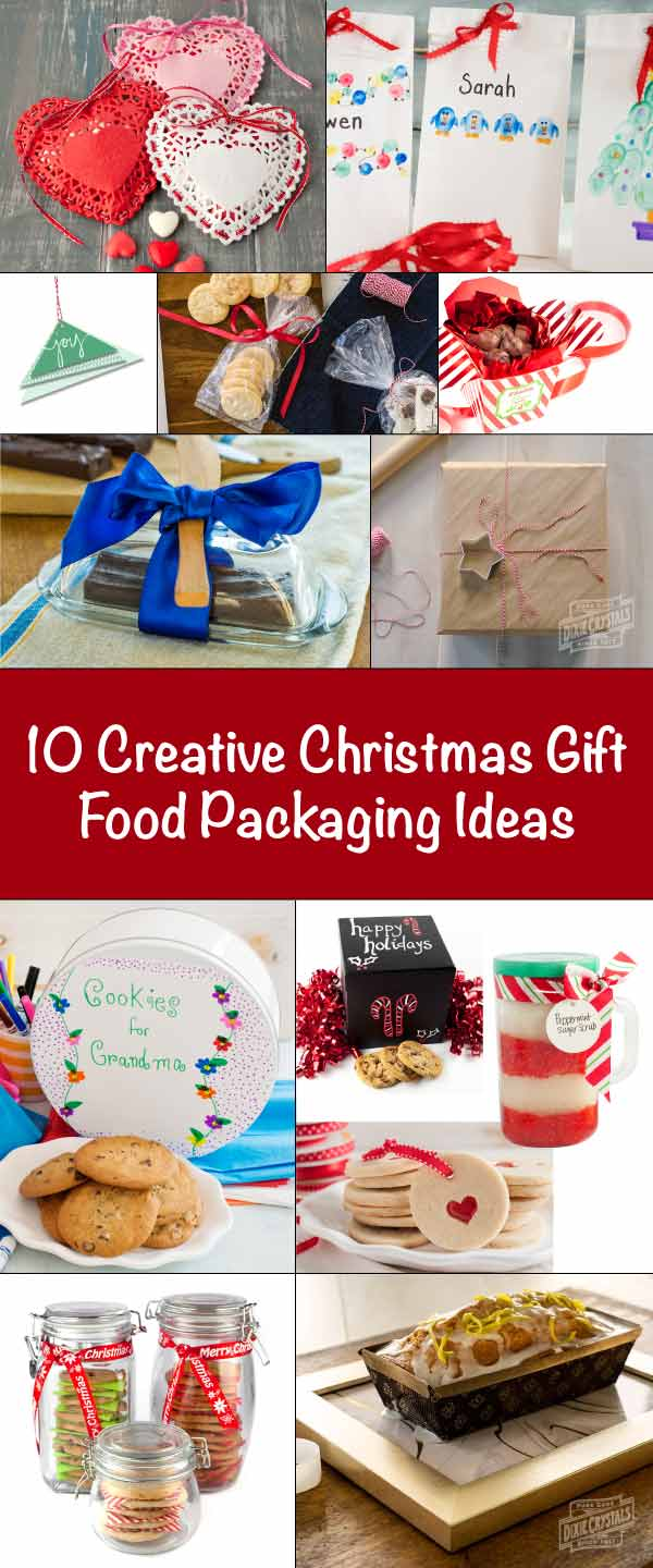 10 Creative Diy Christmas Gift Food Packaging Ideas Dixie Crystals