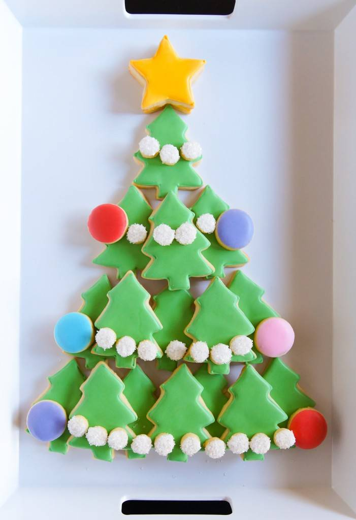 How To Make A Christmas Cookies Platter Dixie Crystals
