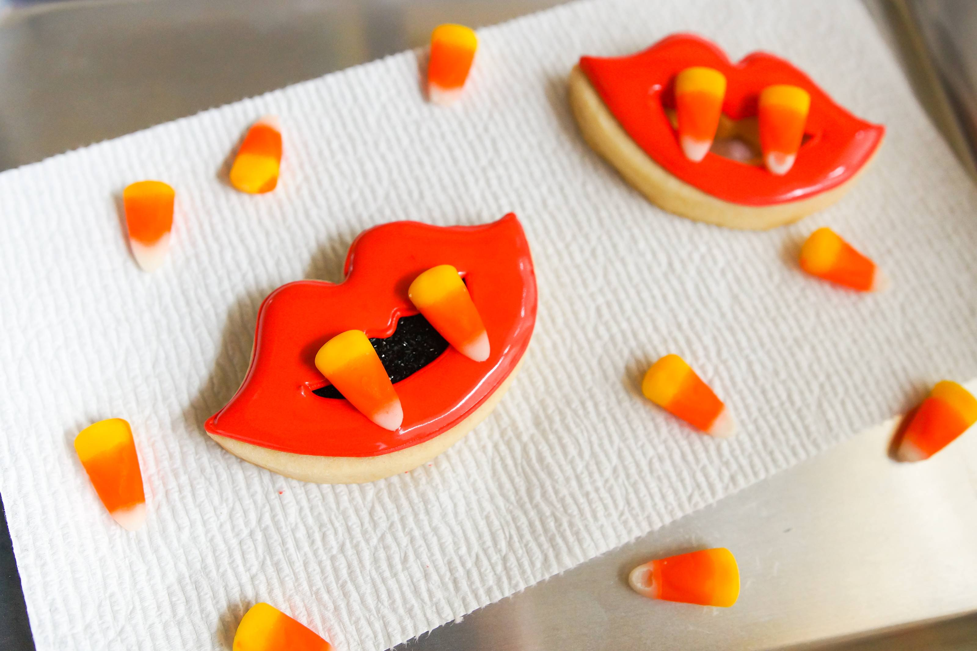 fang decorated cookies IMP candy corn.jpg