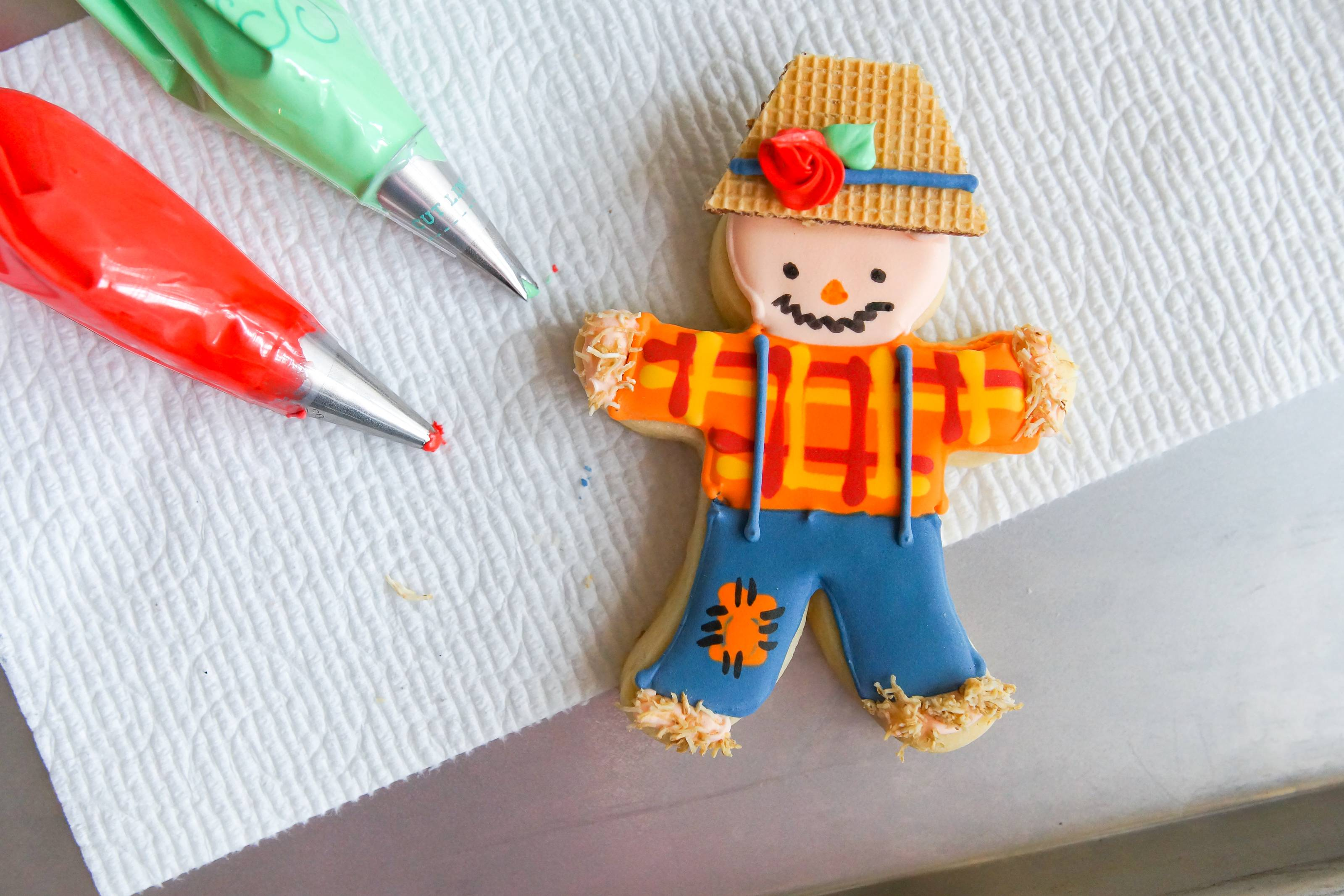Sector scarecrow rare cut-out American cookie cutter scarecrow