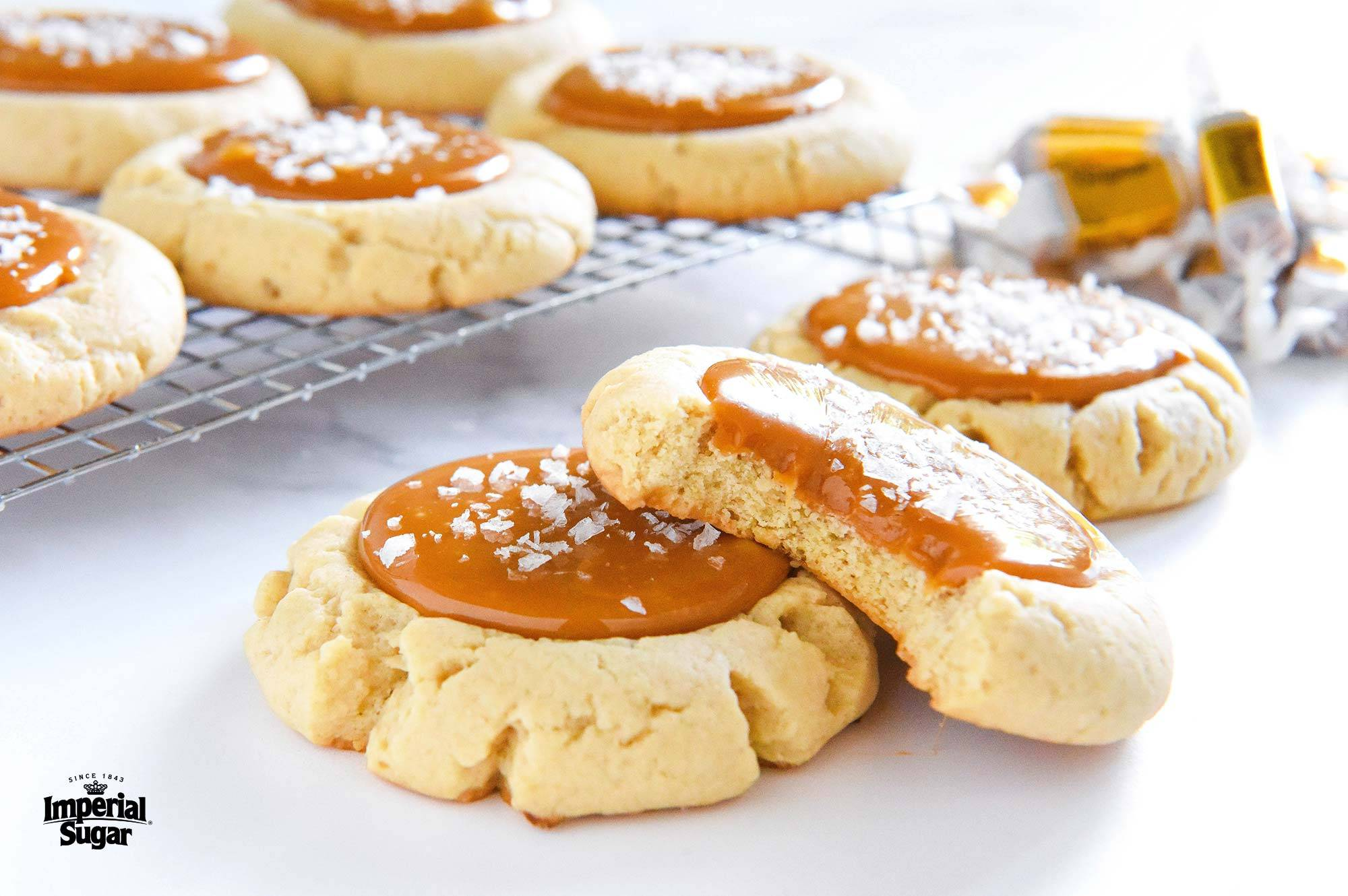 Salted Caramel Cookies Dixie Crystals
