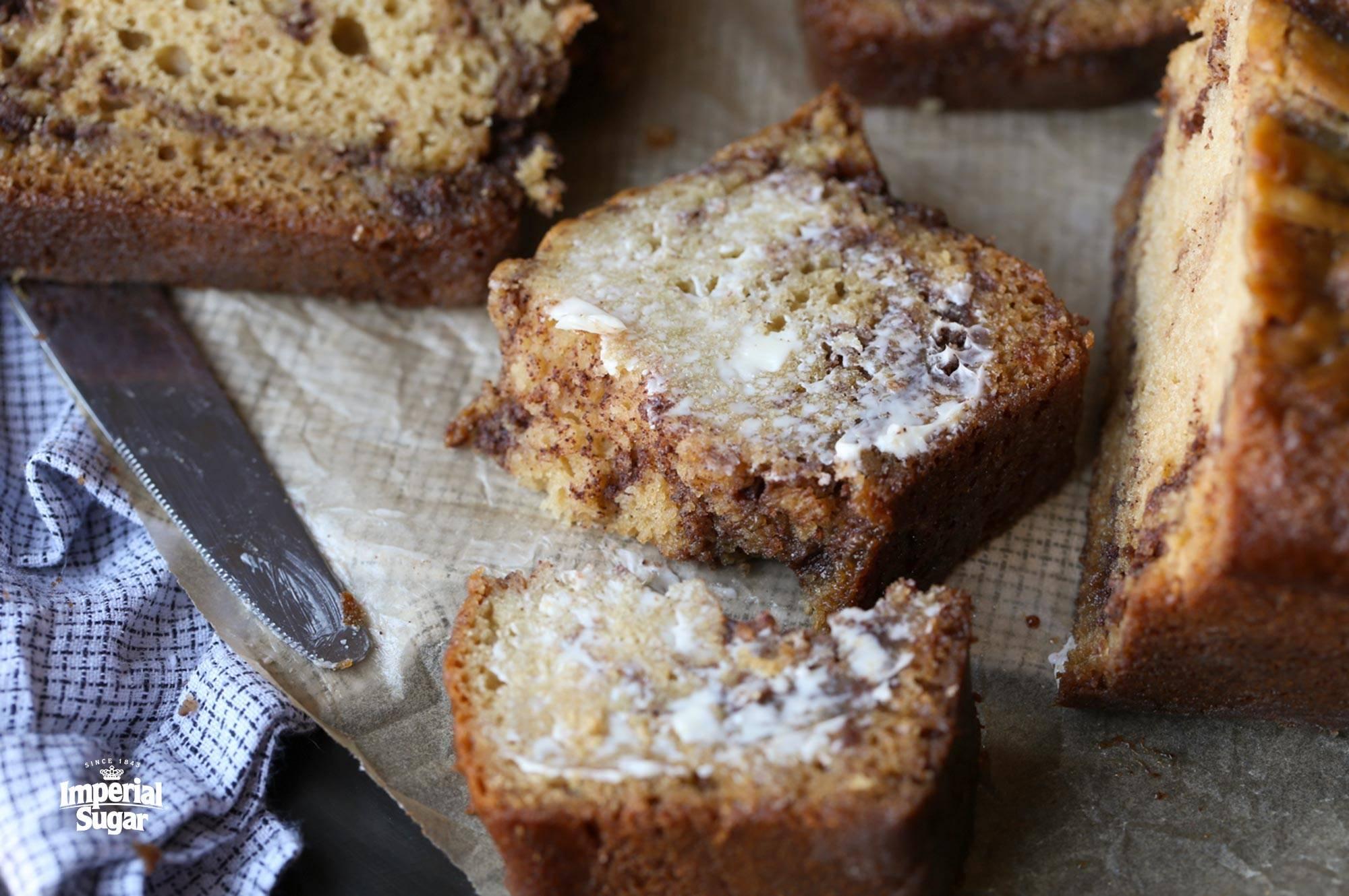 Brown Sugar Cinnamon Swirl Bread Dixie Crystals