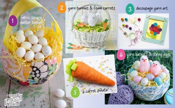 5 Easy Easter Crafts
