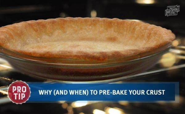 Why and When to Pre-Bake Your Pie Crust