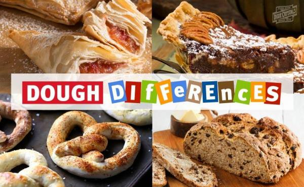 Different Types of Dough