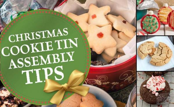 How to Create the Perfect Christmas Cookie Tin