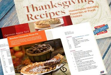 Dixie Homemade Holidays Thanksgiving Cookbook