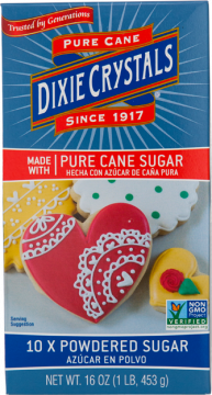 Dixie Crystals Confectioners Powdered Sugar 1-LB Box