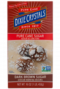 Dixie Crystals Dark Brown Sugar 1-LB Box