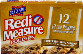 Redi-Measure Light Brown Sugar Pouches
