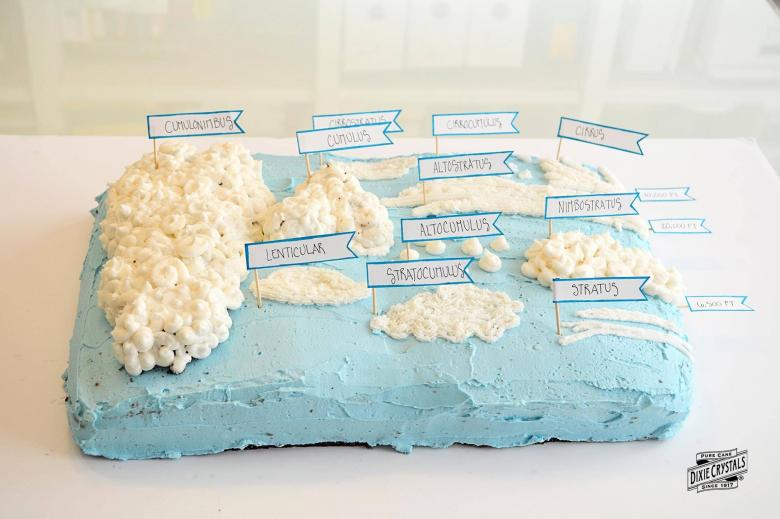 Cloud Cake Science Project