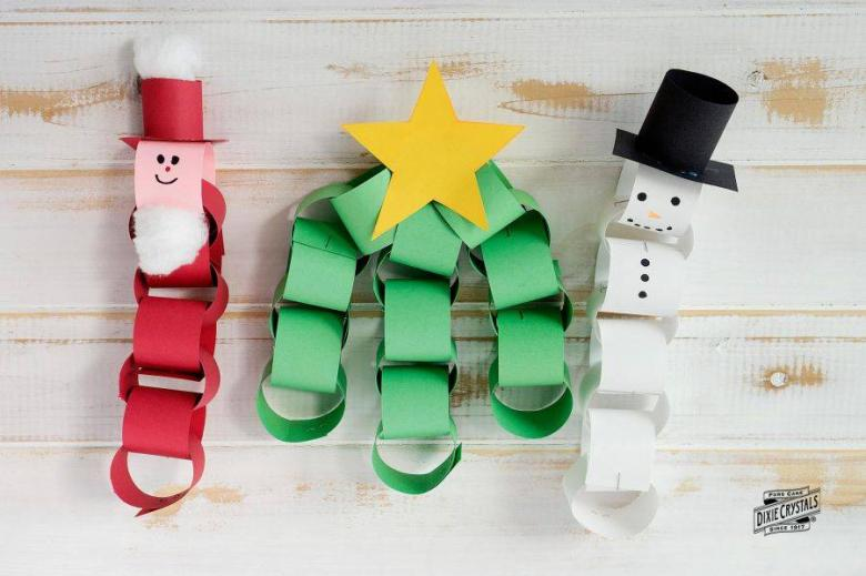 Paper Chain Christmas Craft