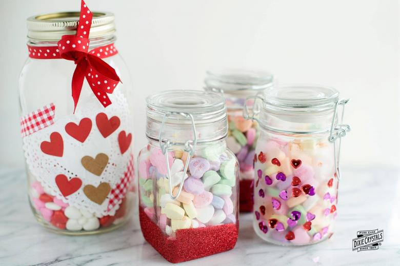 Valentine's Day Treat Jars