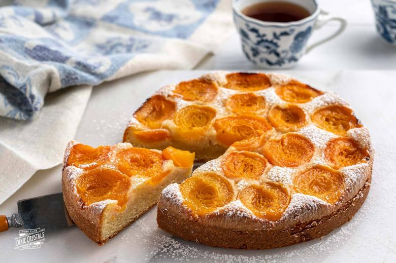 Apricot Almond Cake from Provence