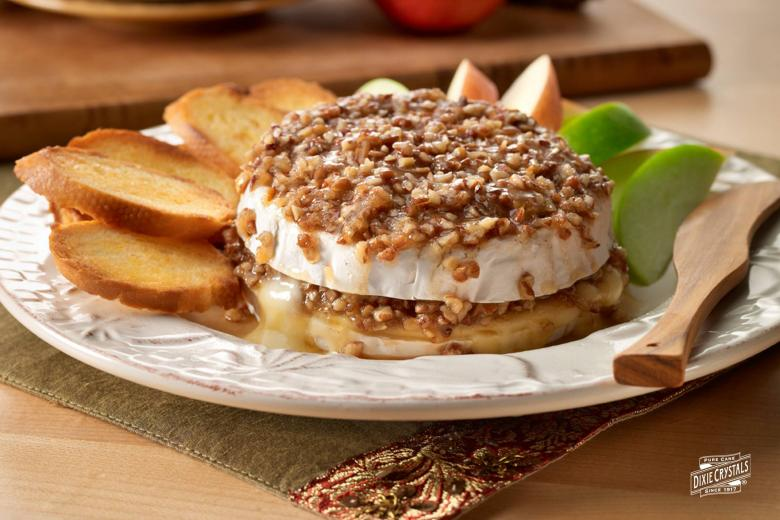 Brown-Sugar Pecan Baked Brie