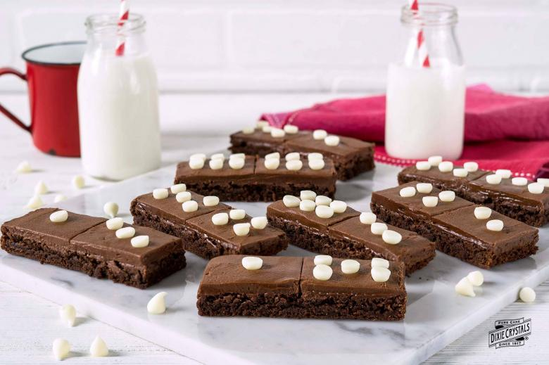 Chocolate Domino Brownies