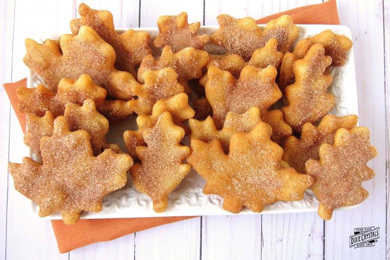 Cinnamon Sugar Fry Bread Leaves