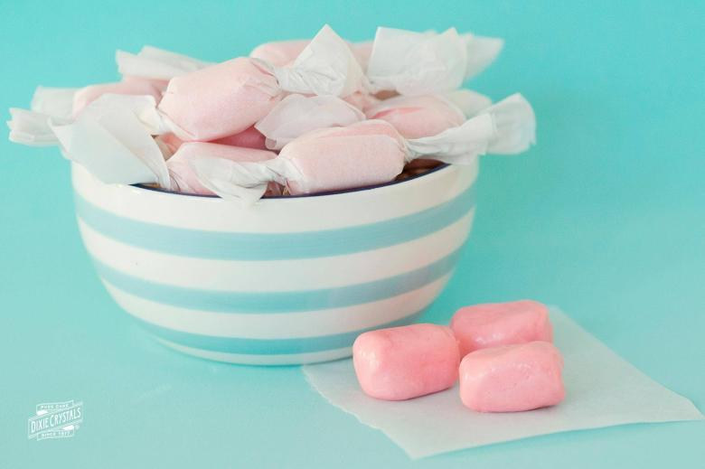 Homemade Bubble Gum Dixie Crystals