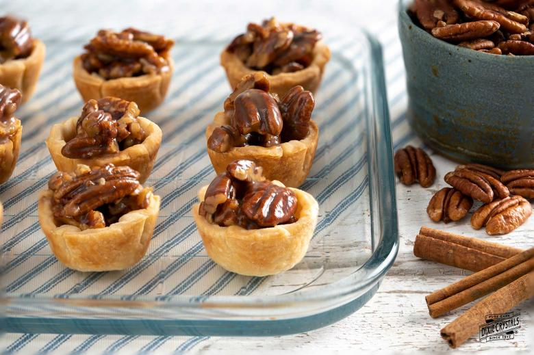 Maple Pecan Mini Tarts