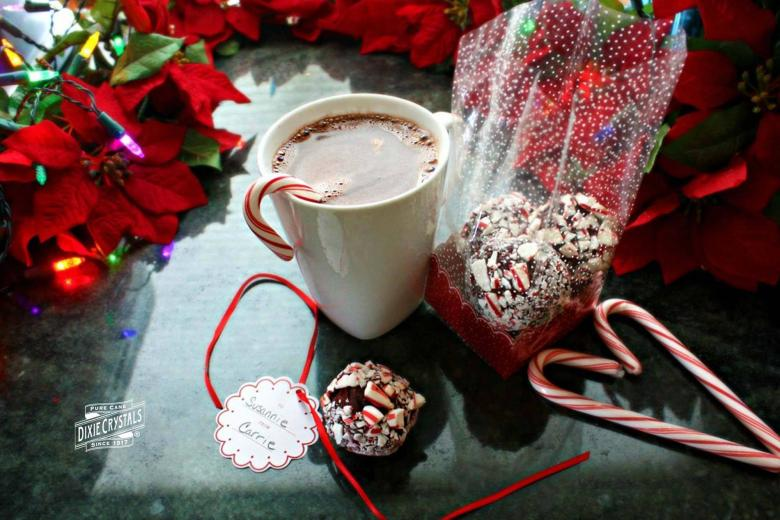 Peppermint Hot Cocoa Truffle Starters