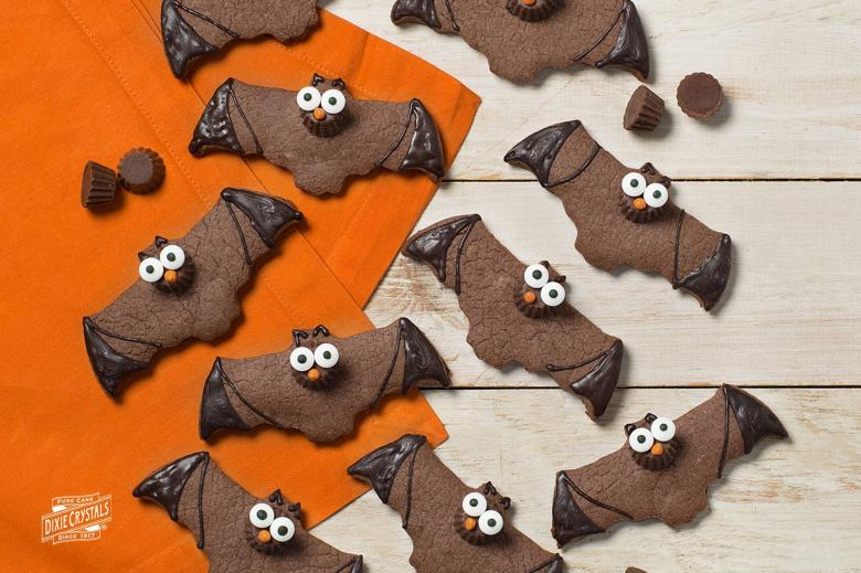 Reese's Chocolate Bat Cookies