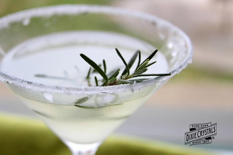 Rosemary Lemon Drop Martini