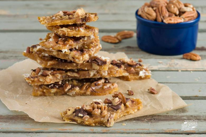 Texas Pecan Toffee