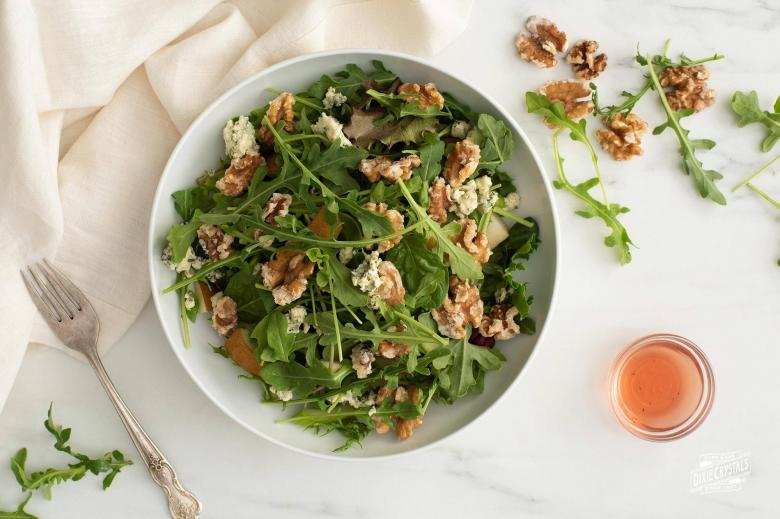 Walnut Roquefort Salad