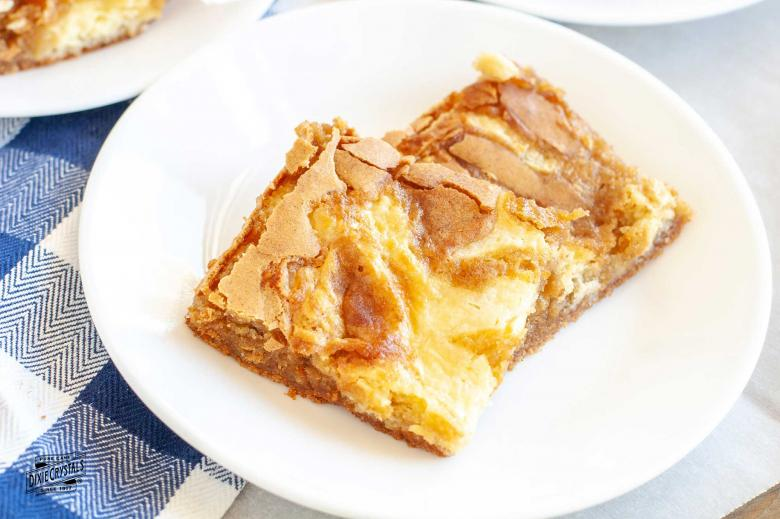 Cream Cheese Swirled Blondies