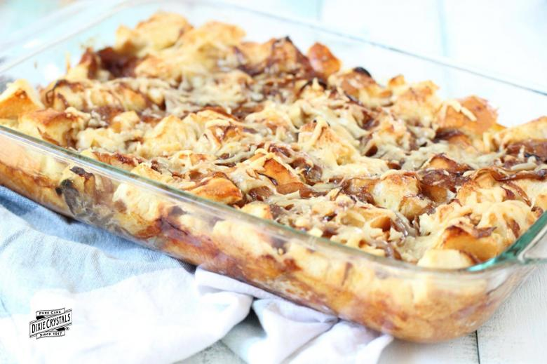 Caramelized French Onion Bread Pudding