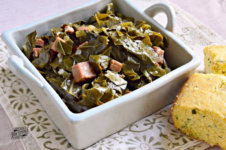 Sandy's New Year's Collard Greens