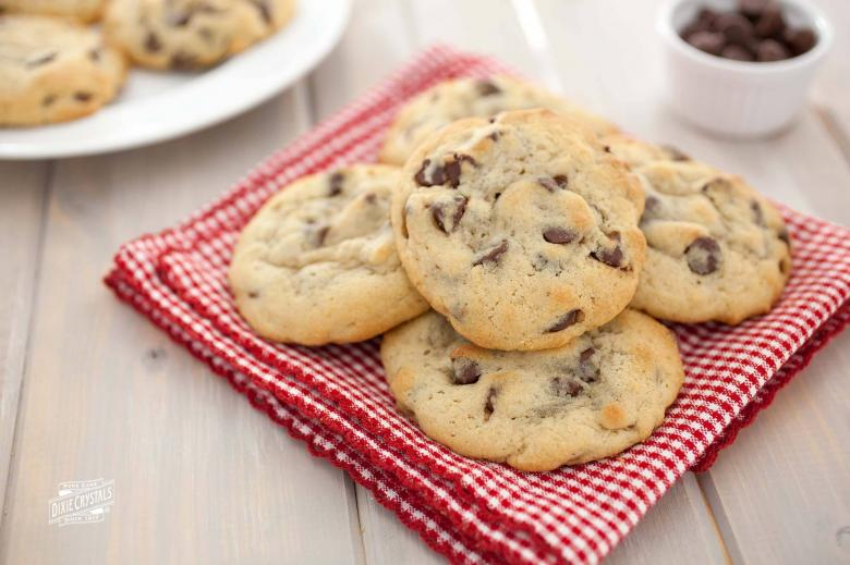 Steviacane Chocolate Chip Cookies