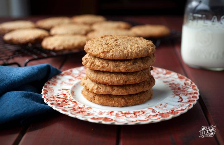 Whole Wheat Honey Peanut Butter Cookies