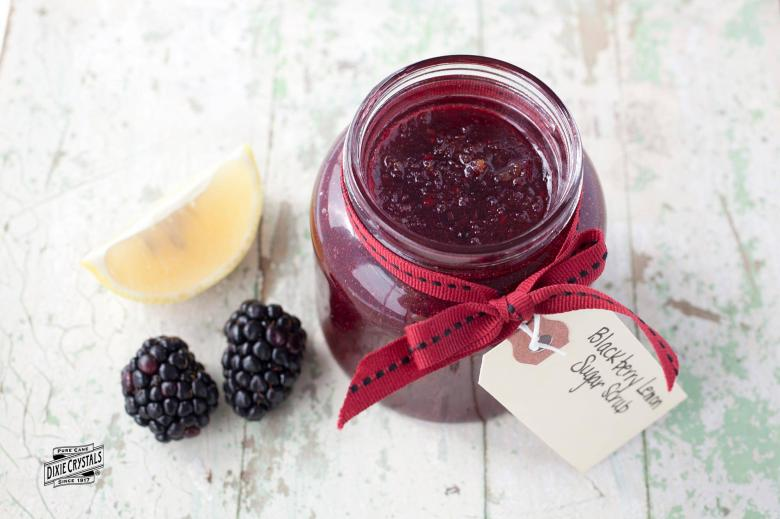 Blackberry Lemon Sugar Scrub