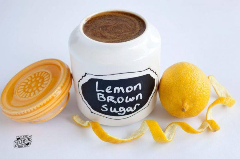 Lemon Brown Sugar Hand Scrub