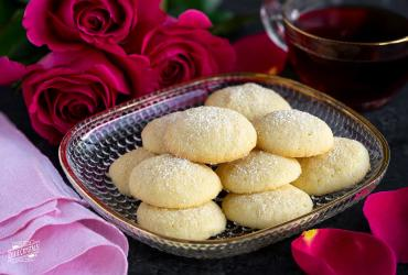 Almond Rose Cookies