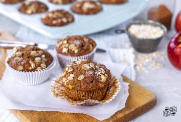 Apple Cinnamon Butter Muffins