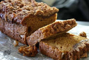Apple Pumpkin Crumb Bread