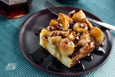 Bananas Foster French Toast Bake