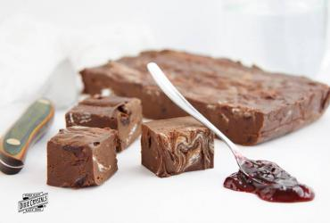 Black Forest Fudge