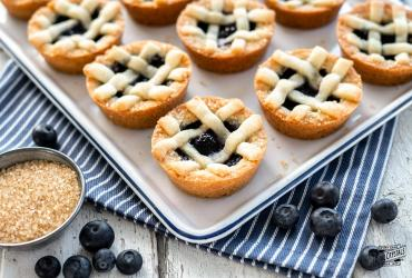 Blueberry Pie Sugar Cookies
