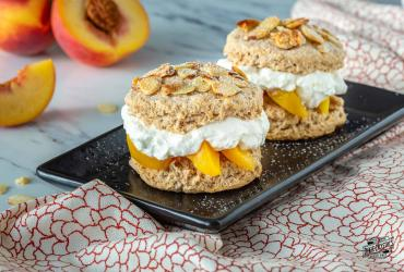 Brown Sugar Peach Shortcakes