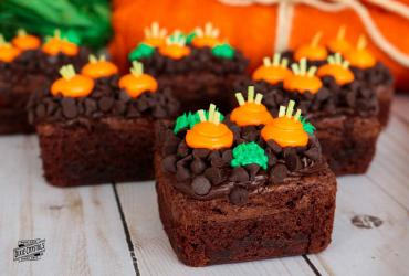 Carrot Patch Brownies