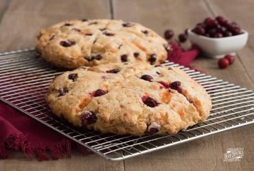 Cheddar And Cranberry Irish Soda Bread
