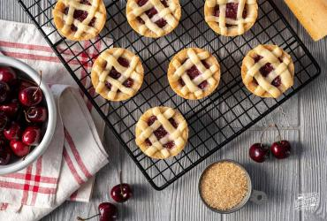Cherry Pie Sugar Cookies